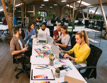 Service communication et marketing d'entreprises