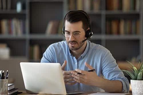 Interprétation téléphonique ou par visioconférence